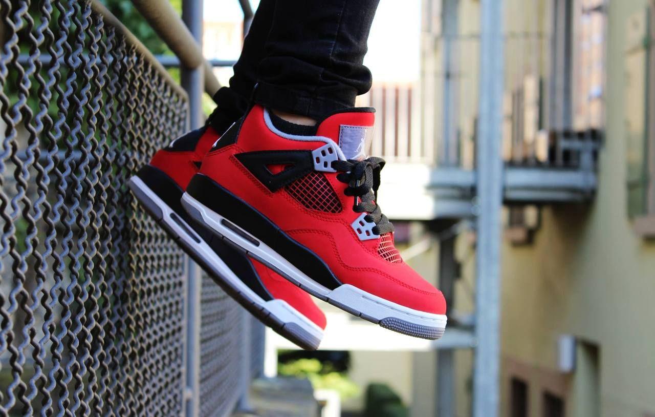 Air Jordan 4 Toro Bravo #sneakers