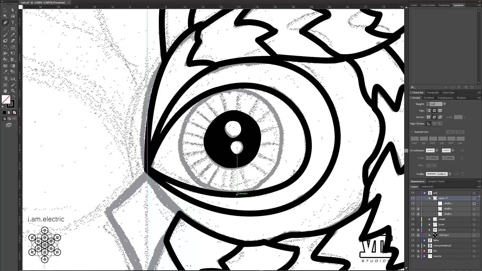 Time Lapse 1 Converting a Drawing to Vector in Adobe