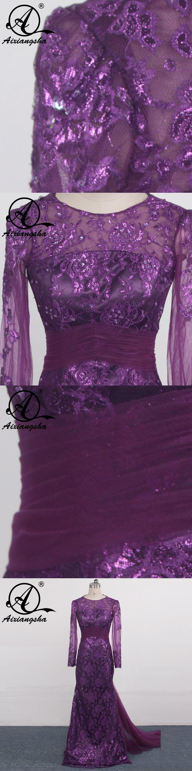 burgundy arabic evening dresses velvet long sleeves lace