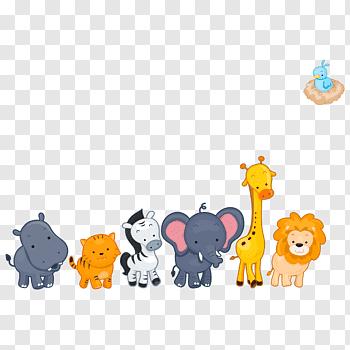 Animal Lot Illustration Hippopotamus Cartoon Animal Illustration Cartoon Animals Free Png Cartoon Animals Cartoons Png Cartoon