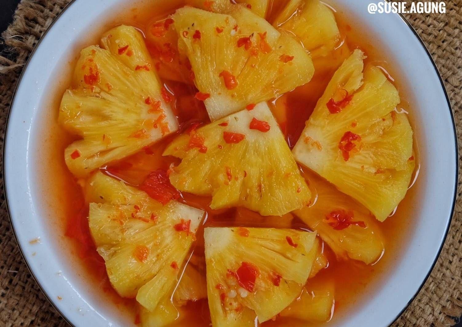 Resep Asinan Nanas Oleh Susi Agung Resep Resep Nanas Makanan