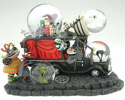 nightmare before christmas snow globe collectors guide nightmare before christmas limited edition snowglobe - Nightmare Before Christmas Snow Globes