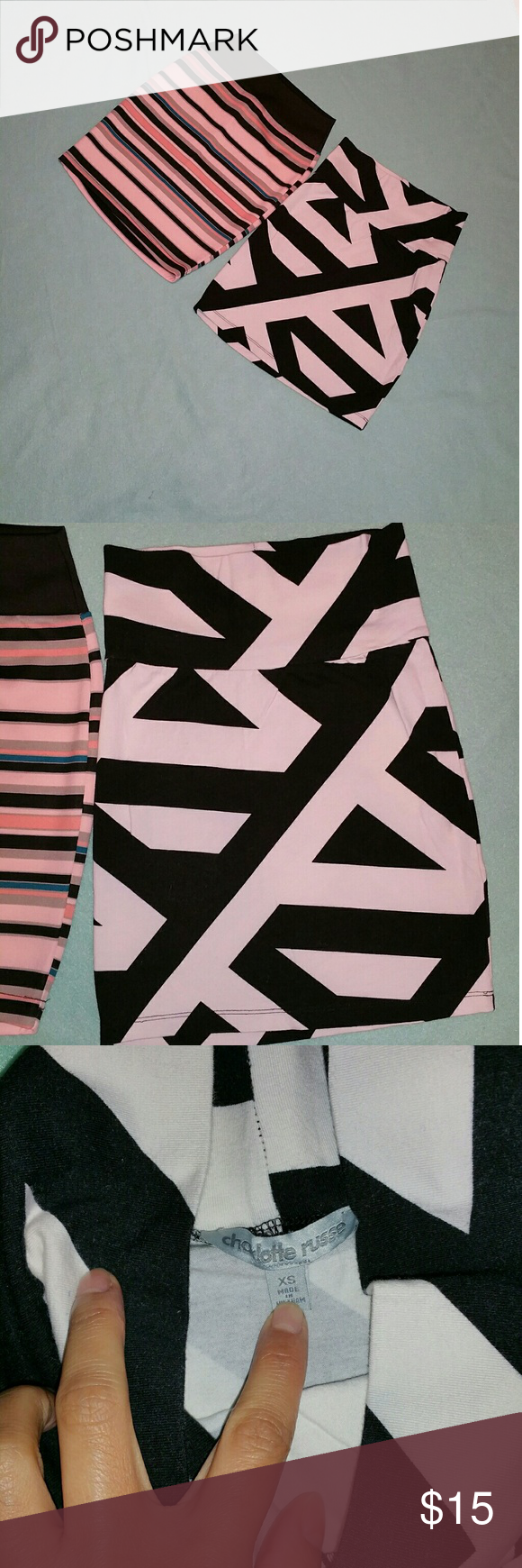 Skirts bundle Perfect condition in size xs price firm Charlotte Russe Skirts Mini