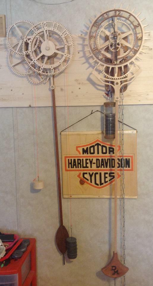 Wooden clocks rotara and korona from don marshall - The marshall plan was designed to ...