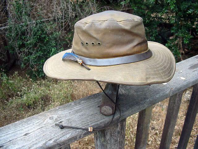 72eb06b478e filson tin cloth bush hat