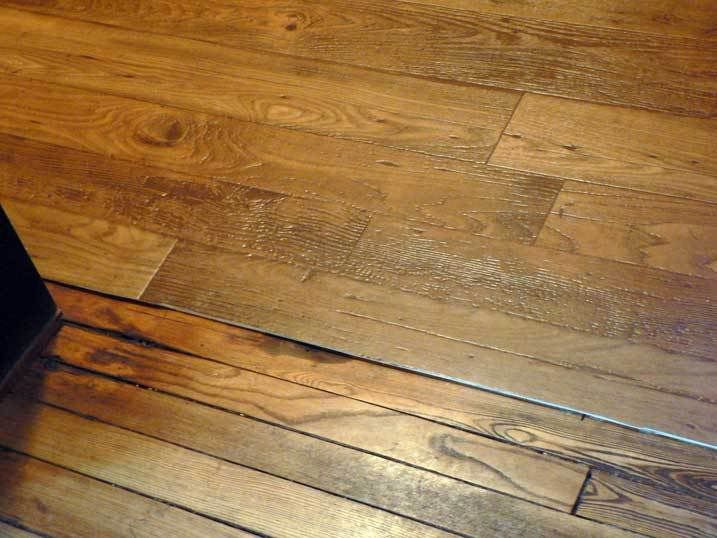 This Stuff Looks Great Sheet Vinyl Next To Real Wood Armstrong Rhythms  Number 92190 Color - Wood Grain Sheet Vinyl Flooring Carpet Awsa