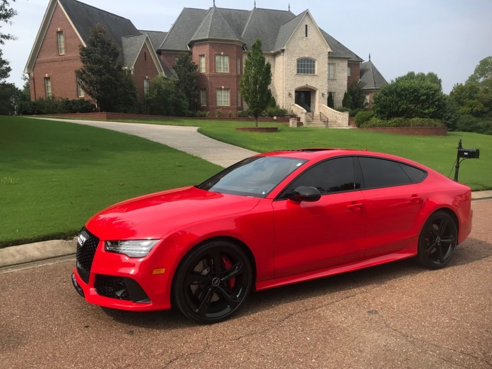 2016 Audi Rs7 2016 Audi Rs7 Misano Red Pearl Effect Certified Pre