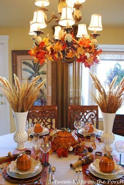 6 autumn tablescapes