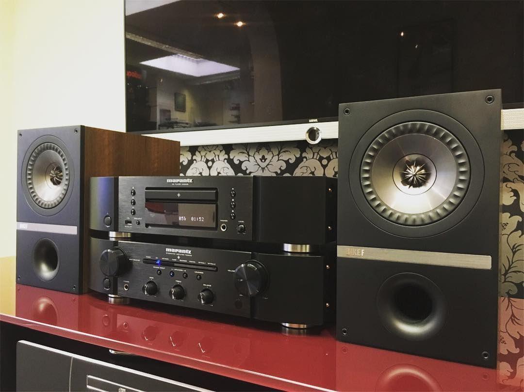Marantz Pm6006 Cd6006 Kef Q100 Stereo Hifidelity Hifi
