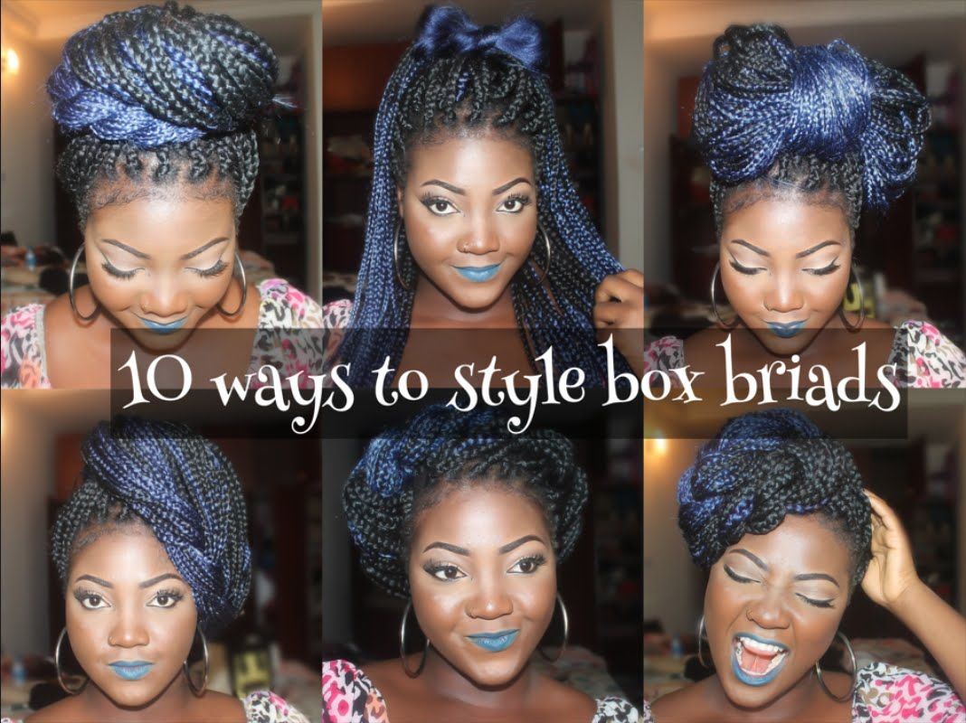 10 Unique Styles For Box Braids Black Hair Information