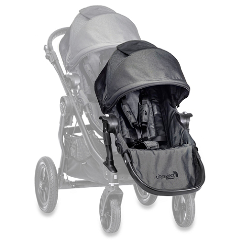 Baby Jogger City Select Second Seat Kit Black Frame In Charcoal Baby Jogger City Select Baby Jogger City Select Double Baby Jogger City Select Stroller