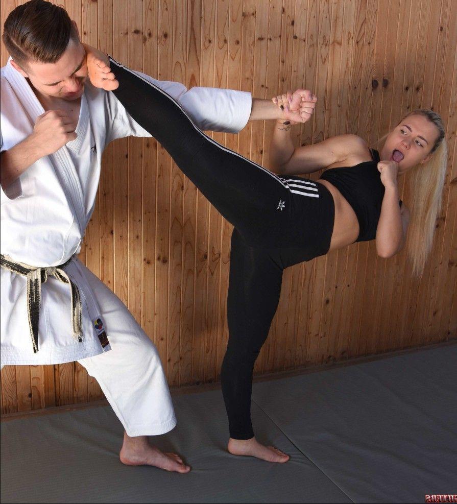 Girls kick butt sexy pics Pin On Sexy Karate Girls Kicking Ass