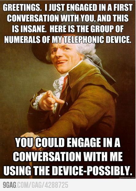 Call me maybe!