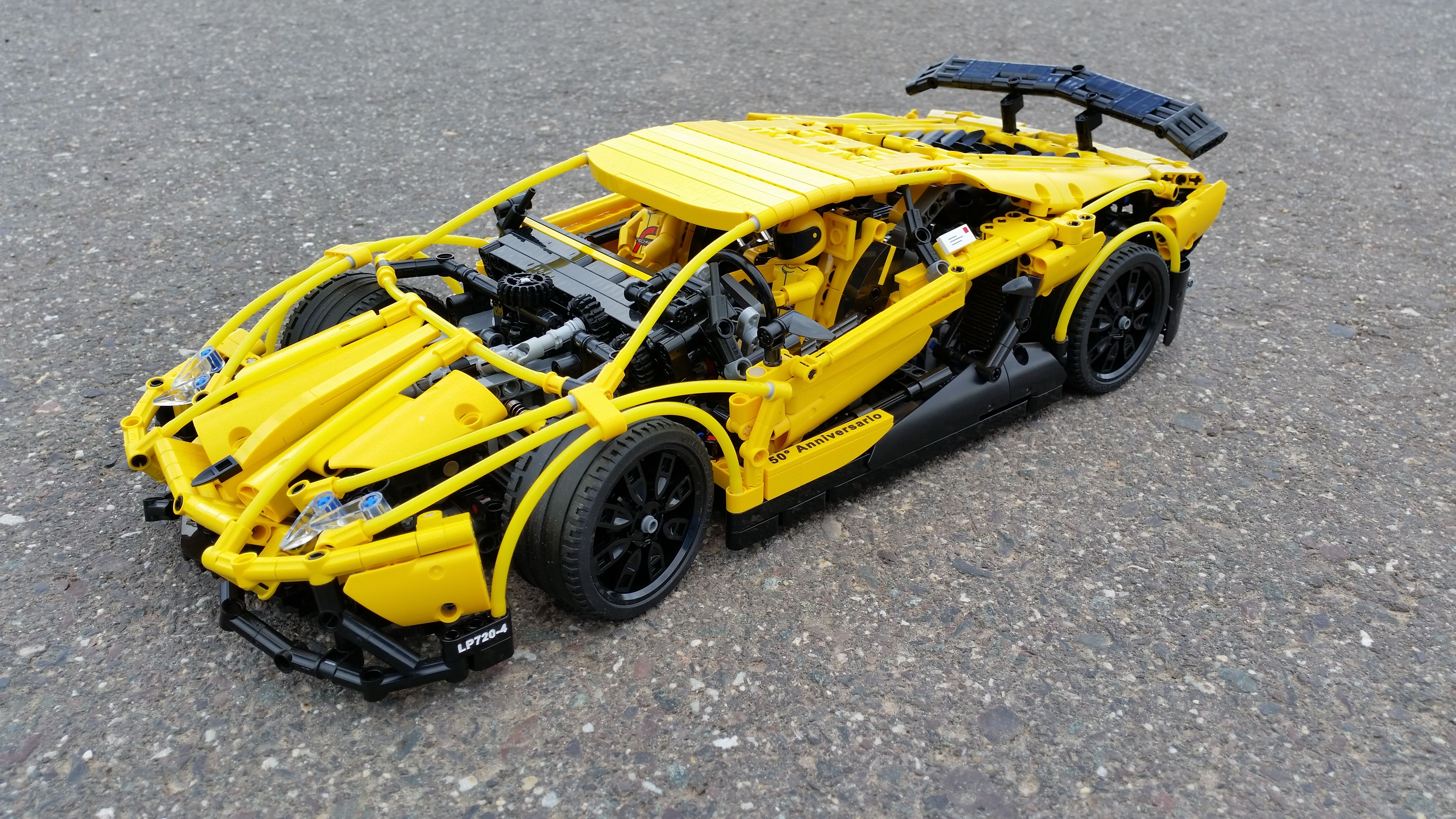 lego technic lamborghini aventador yellow hobby lego pinterest lego technic lego and. Black Bedroom Furniture Sets. Home Design Ideas
