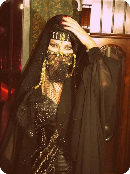 Bedouin Burqa Haifa Wehbe Beautiful Hijab Arabian Women