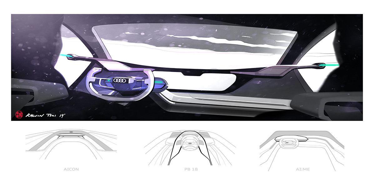 AUDI AITRAIL quattro on Behance in 2020 Audi, Car