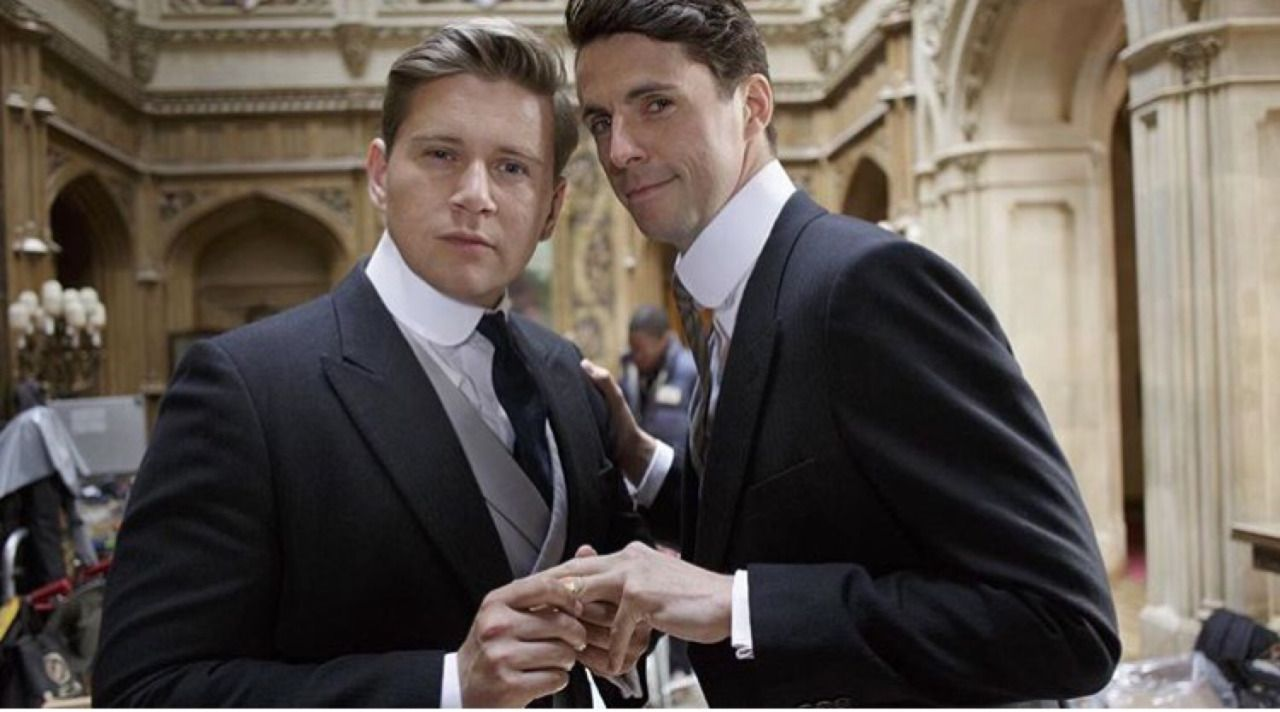 Matthew and Allen, Downton Abbey, 2015