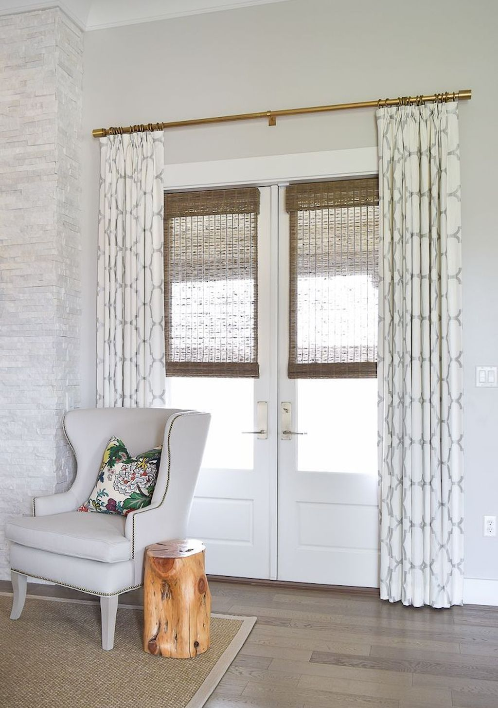 73 Modern Farmhouse Curtains for Living Room Decorating ... on Farmhouse Curtain Ideas For Living Room  id=68798