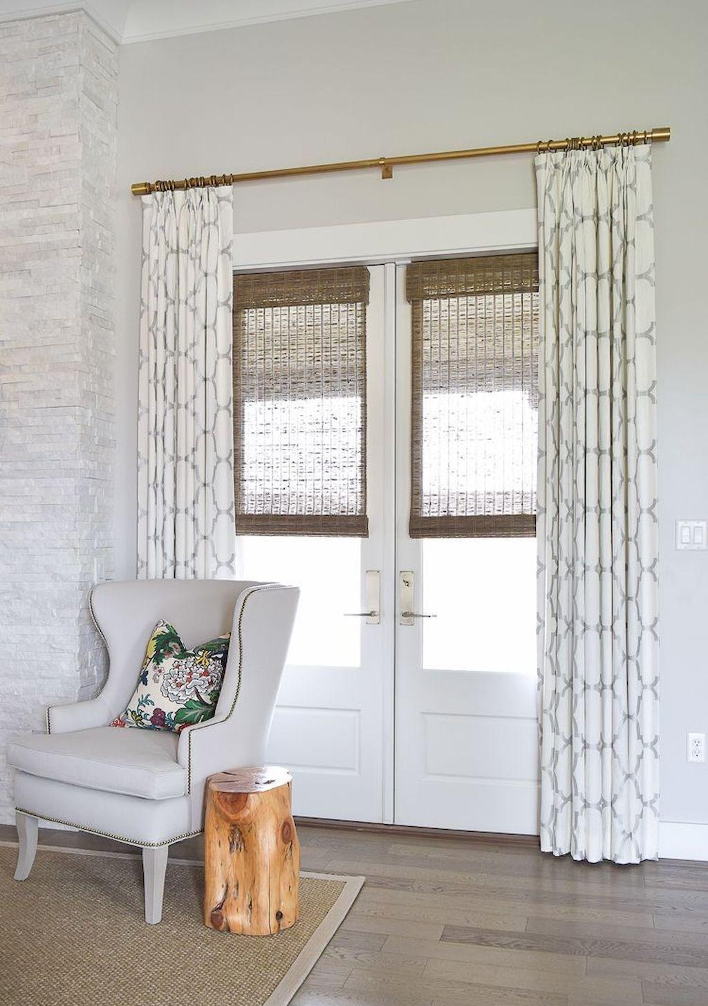 73 Modern Farmhouse Curtains for Living Room Decorating ... on Farmhouse Curtain Ideas For Living Room  id=68798