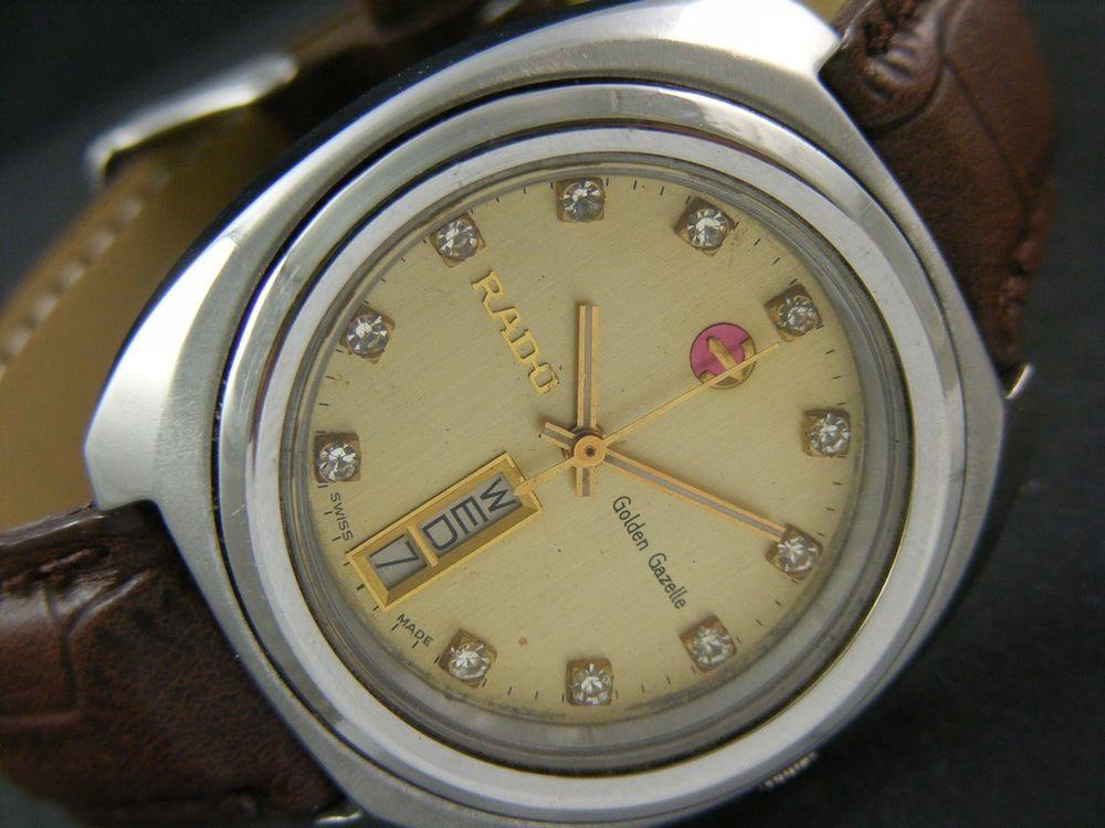 Vintage Rado Golden Gazelle Automatic Swiss Men 039 S D D Watch Eta 2789 1 A1092 Rado Vintage Watches Watches