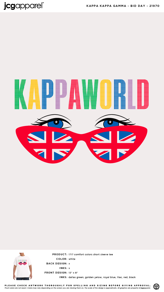 Greek Letter Before Kappa.Kappa Kappa Gamma Bid Day Shirt Sorority Bid Day Greek Bid Day