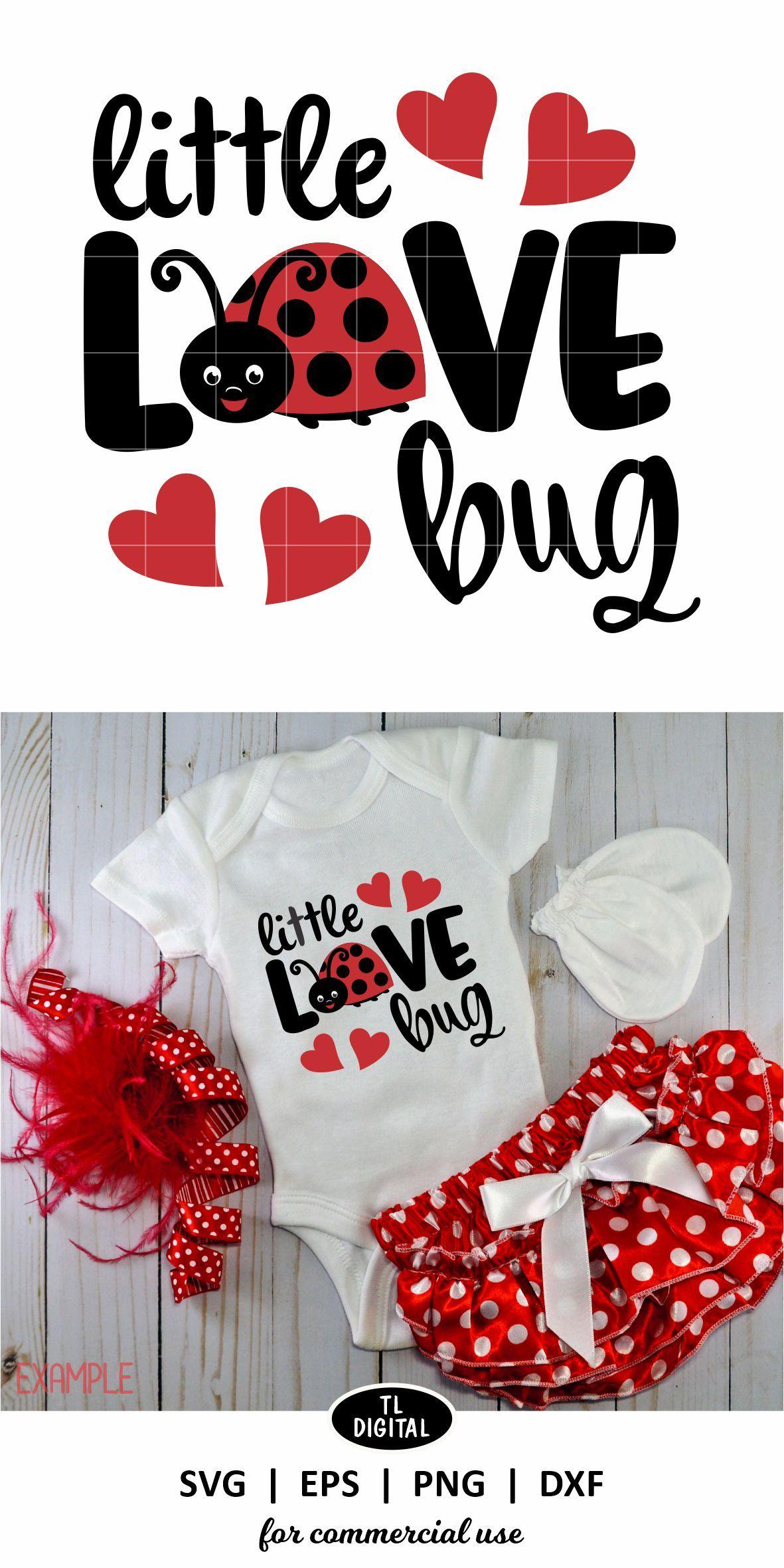 Download Little Love Bug - SVG | EPS | PNG |DXF | Valentines design ...