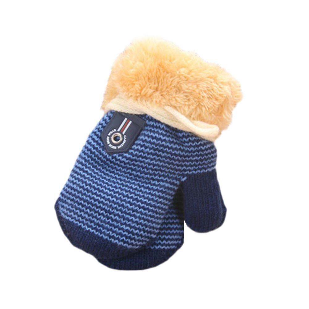 d58529af4a3b Cute Thicken Hot Infant Baby Girls Boys Of Winter Warm Gloves ...