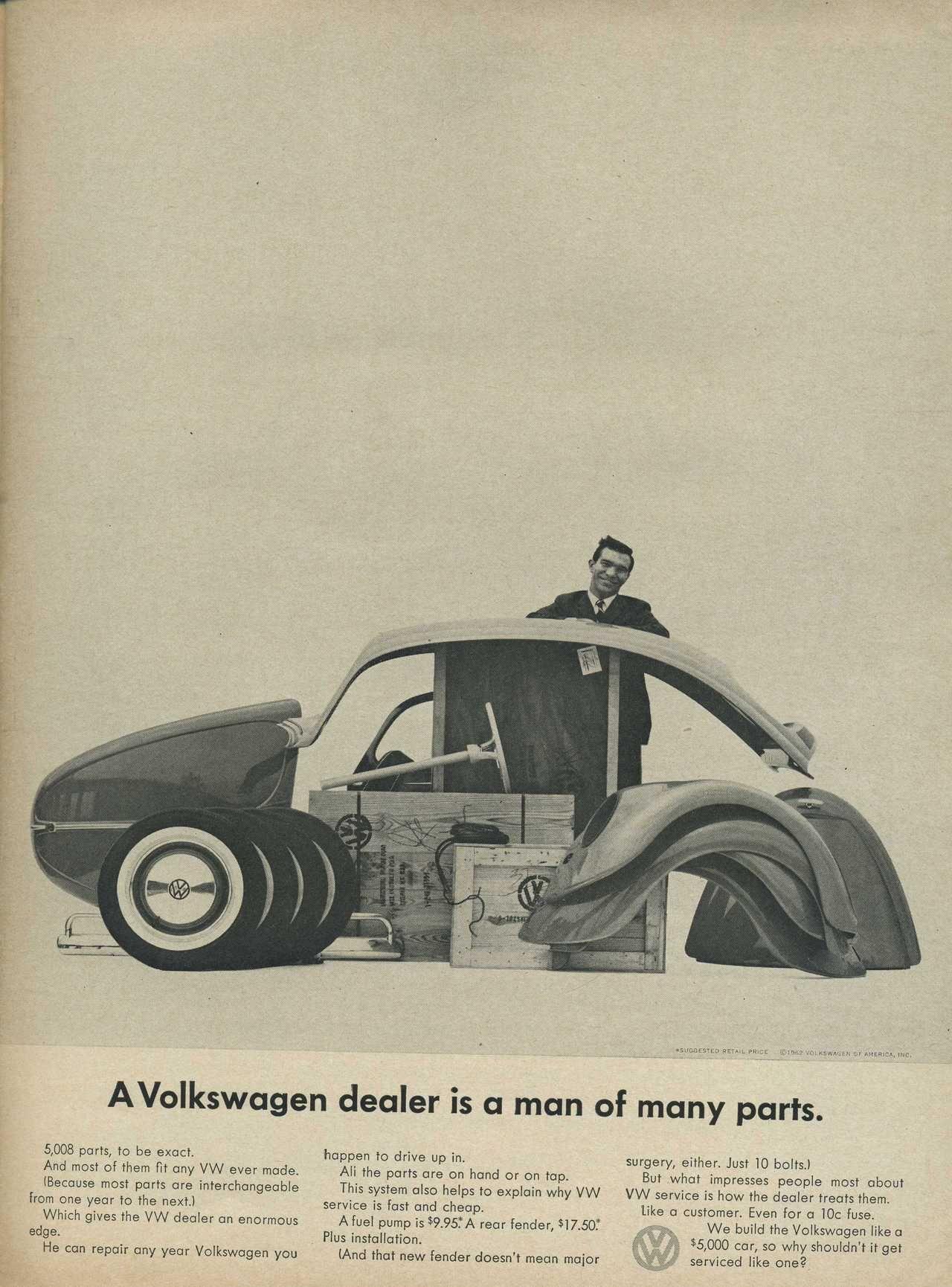 1962 volkswagen beetle advertisement photo picture [ 1280 x 1730 Pixel ]