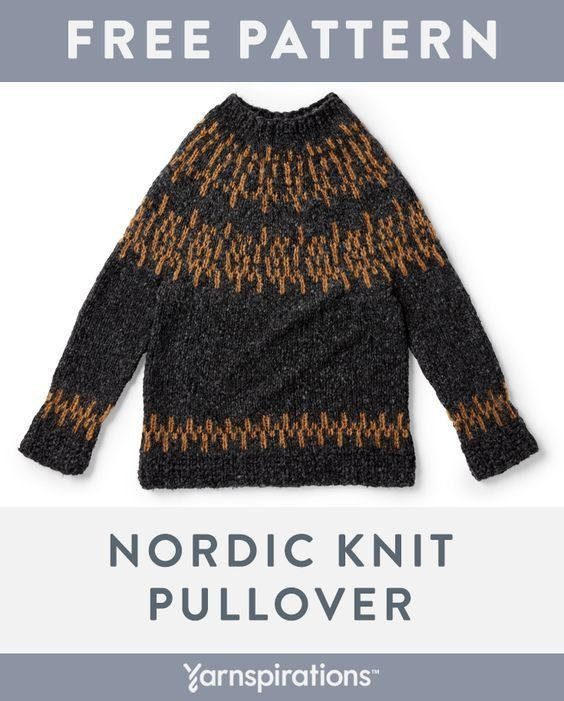 Free knit pattern using Patons Norse yarn. Free Nordic ...