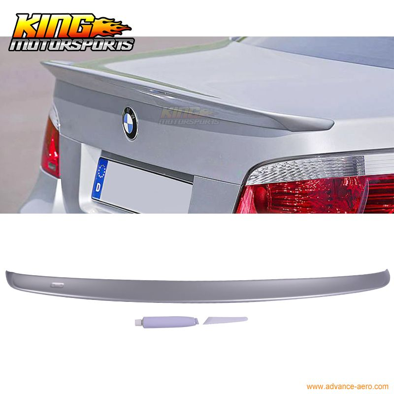 04-10 BMW 5 Series E60 M5 Ac Style #354 Painted Trunk Spoiler