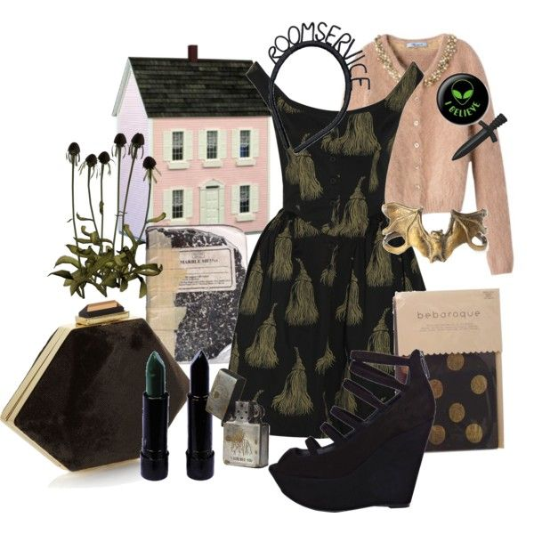 room service, created by disasterlife on Polyvore
