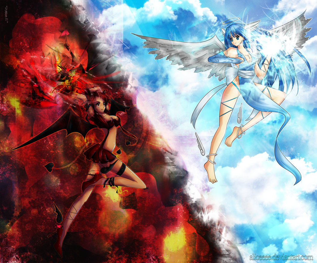angels and demons by a...