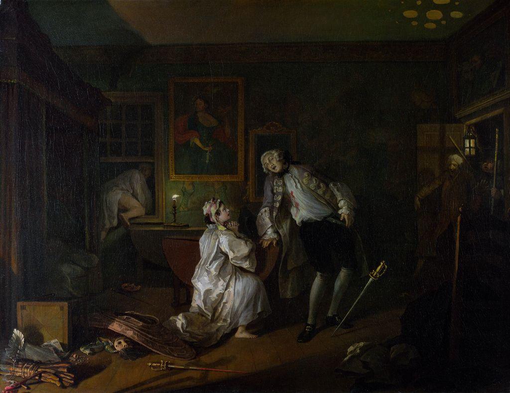 Arte E Iconografia Matrimonio A La Moda William Hogarth Art