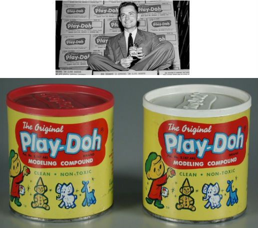 Before it became the beloved children's toy it is today, for 22 years Play-Doh was a wallpaper cleaner. In 1954 American Joe McVicker w…