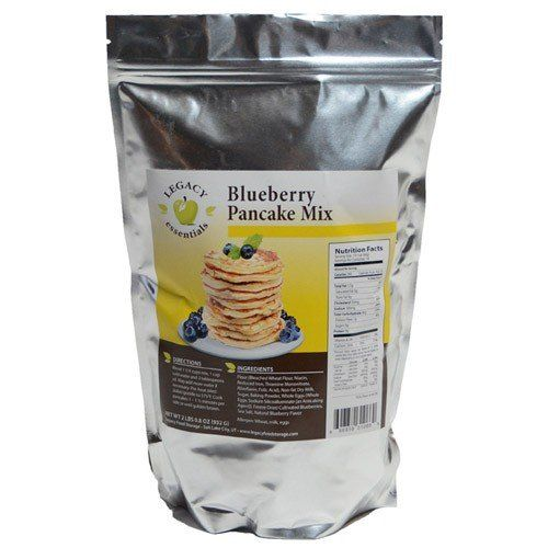 Legacy Essentials Long Term Blueberry Pancake Mix 15 Year