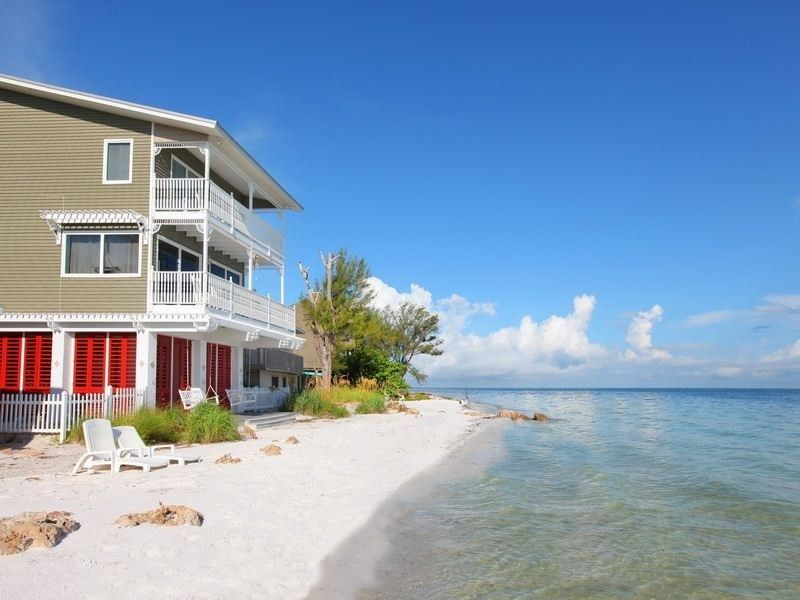 florida houses on the water. anna maria house rental seasideluxury gulf front custom homesteps to the beachwater florida houses on water