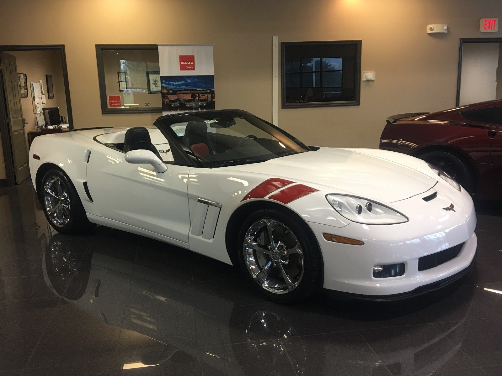2011 Chevrolet Corvette Grand Sport Arctic White Chevrolet