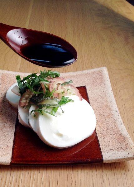 [醤油の料理帖]:モッツァレラチーズ