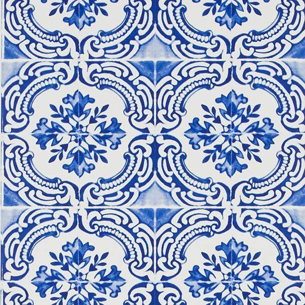 Papier peint #azulejos par Christian Lacroix pour #designers Guild ...