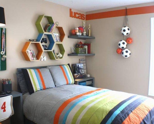 Soccer Theme For Teenage Boy Bedroom Tween Boy Bedroom Boys Room Decor Boys Room Design