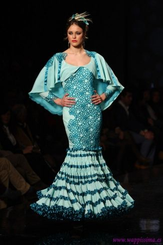 Traje de Flamenca - Ana-Moron - SIMOF-2013