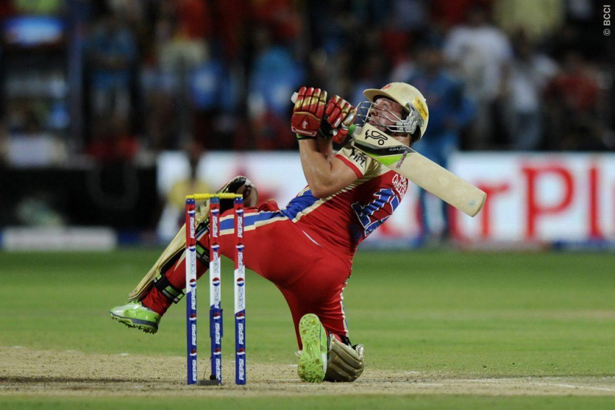 AB de Villiers & His Acrobatic Batting Style | Famous ...