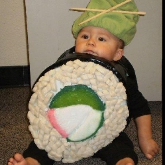 Sushi Baby!  Please 'like', 'repin' and share!  Thanks :)