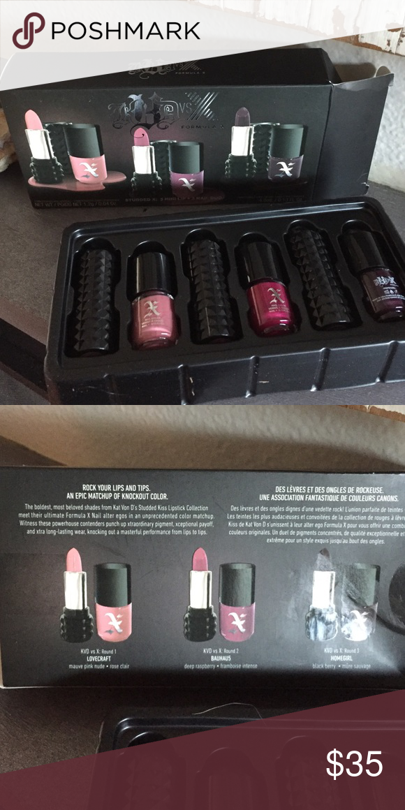 Kat von D vs X formula X | Kat von, Sephora makeup and Sephora