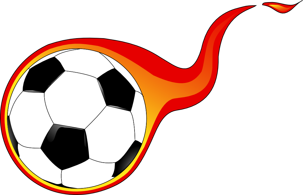 Flaming Soccer Ball Clip Art Free With Images Soccer Ball Free Clip Art Football Ball