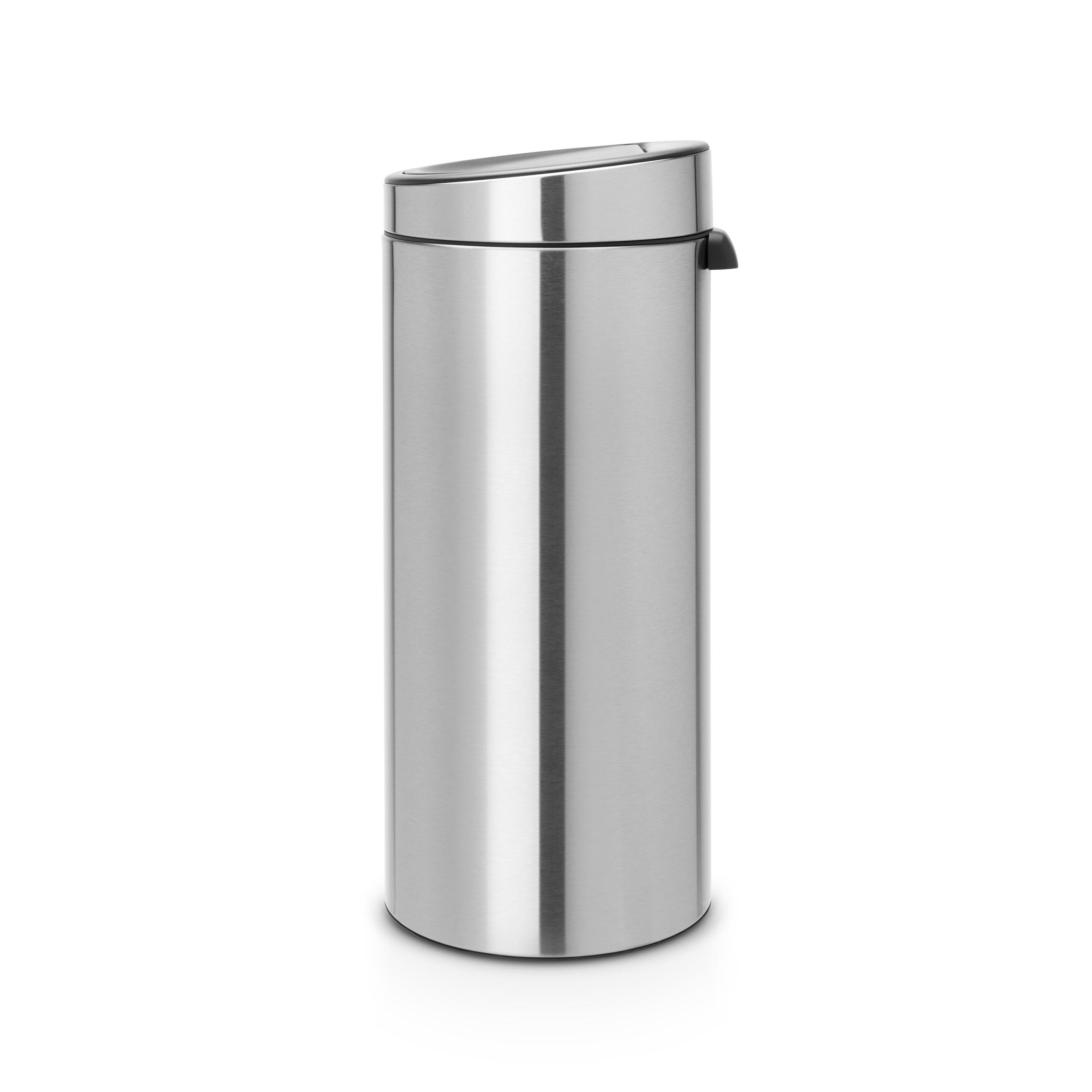 Brabantia Prullenbak 30 Liter.Brabantia Touch Bin 30 Liter Matt Steel In 2019 Products Hobbyruimte