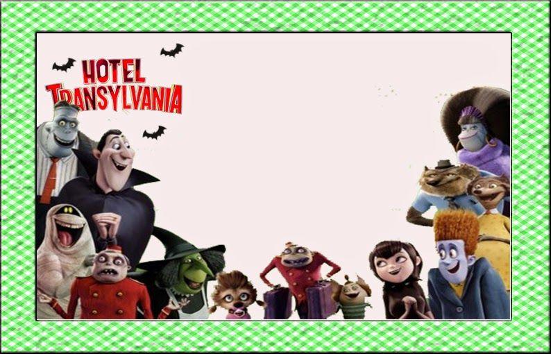 Transylvania Hotel Free Printable Invitations Cumpleaños