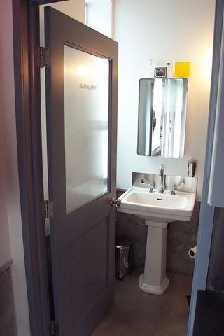 Frosted Glass Doors in Bathrooms Bathrooms Pinterest Frosted