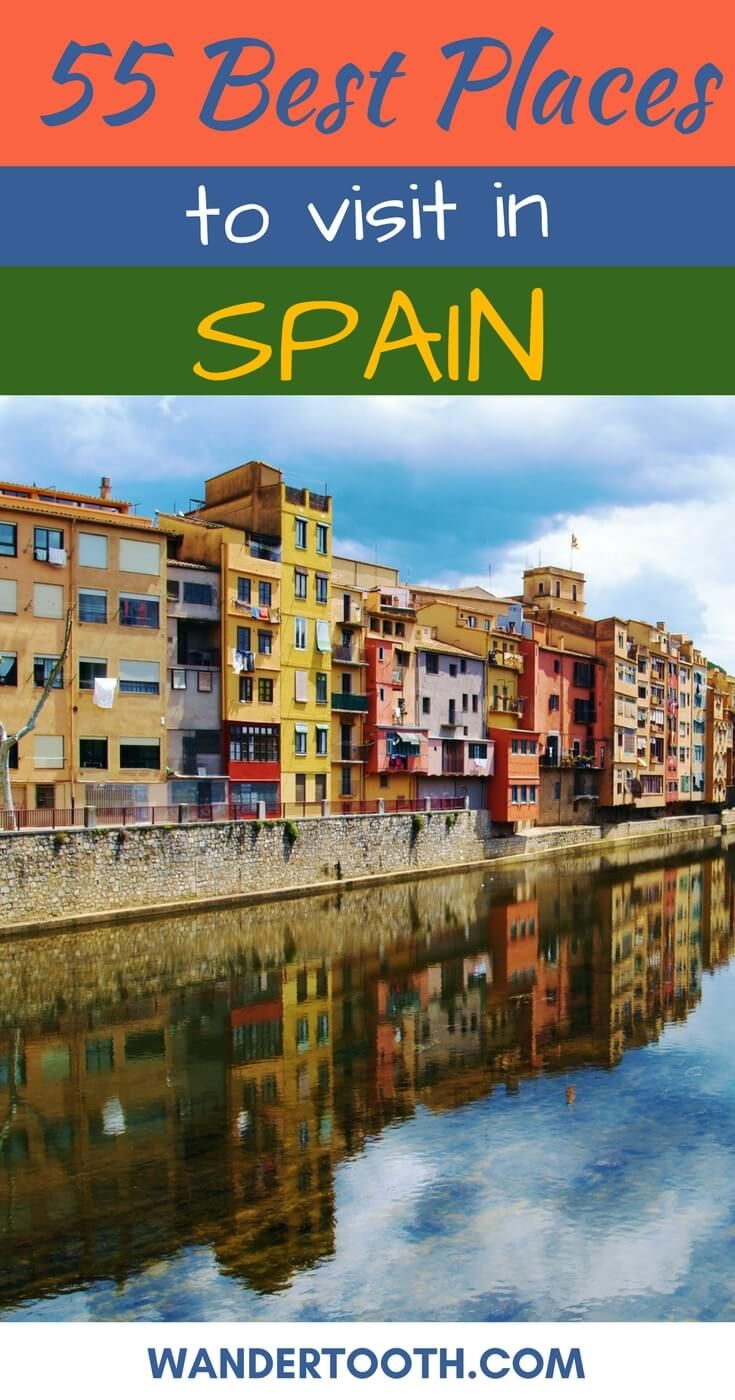 The most popular places in Spain in the selection of real estate