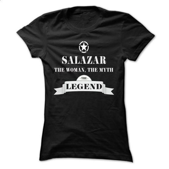 SALAZAR, the woman, the myth, the legend - #country sweatshirt #sweatshirt skirt. PURCHASE NOW => https://www.sunfrog.com/Names/SALAZAR-the-woman-the-myth-the-legend-gstifiaiql-Ladies.html?68278